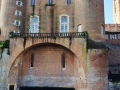 The beautiful renaissance style palace in Albi