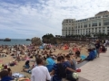 Biarritz beaches, perfect for people watching